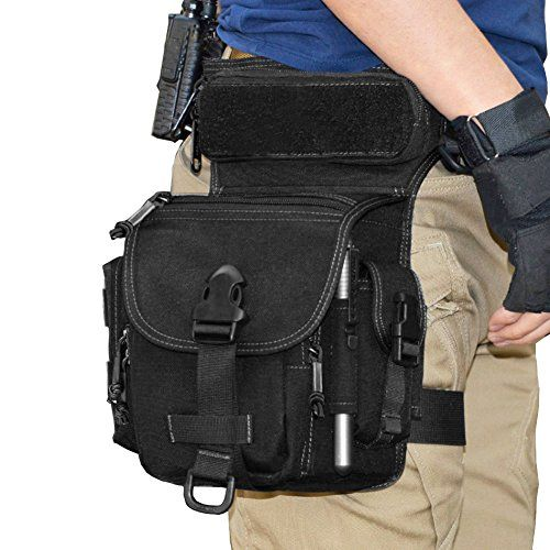 Reebow Gear Military Tactical Drop Leg Bag Tool Fanny Thigh Pack Leg Rig Utility Pouch
