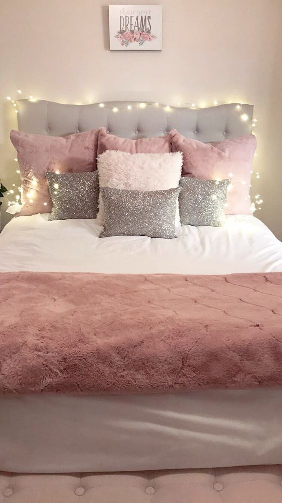 Pink Bedroom Ideas for Teen Girls – #Bedroom #Girl…