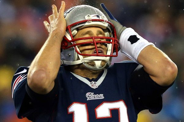 Tom Brady was accused of deflating his teams football to gain the advantage when passing the ball, and was suspended for 4 games and the patriots lose draft picts.  Deviant Phrases-Deflategate And Spygate Vocab Words-arbitrator and exonerated Abstract Connection-Fifa corruption and Alex Rodriguez Using steroids