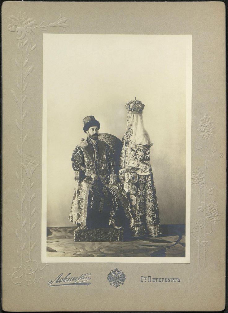 https://flic.kr/p/XVZhyn | Emperor Nicholas II and Empress Alexandra Feodorovna .1903.