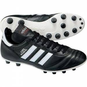 Adidas Copa Mundial Football Boots Copa Mundial. Profile: The most popular football shoe of the past 20 years. Highest quality made in Germany. Pefect fit and comfort. The choice of football players at all levels. http://www.comparestoreprices.co.uk/football-boots/adidas-copa-mundial-football-boots.asp