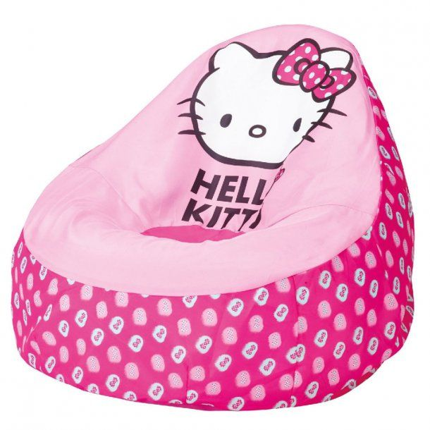Hello Kitty oppblåsbare lenestol