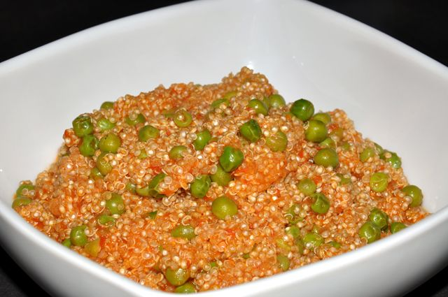 Quinoa, pomodoro e piselli | Vegan blog - Ricette Vegan - Vegane - Cruelty Free