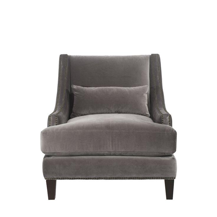 Метки: Кресла для дома, Кресло для отдыха. Материал: Ткань, Дерево. Бренд: Gramercy Home. Стили: Классика и неоклассика, Лофт. Цвета: Серый.