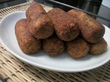 Receita de Croquete de batata com carne moída