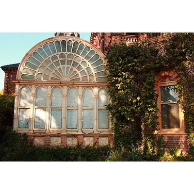 Huge Beautiful Victorian window and conservatory.