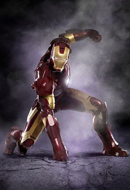 Iron Man. I love all of the Iron Man movies and his role in The Avenges! Robert Downey Jr. just fits the role so well
