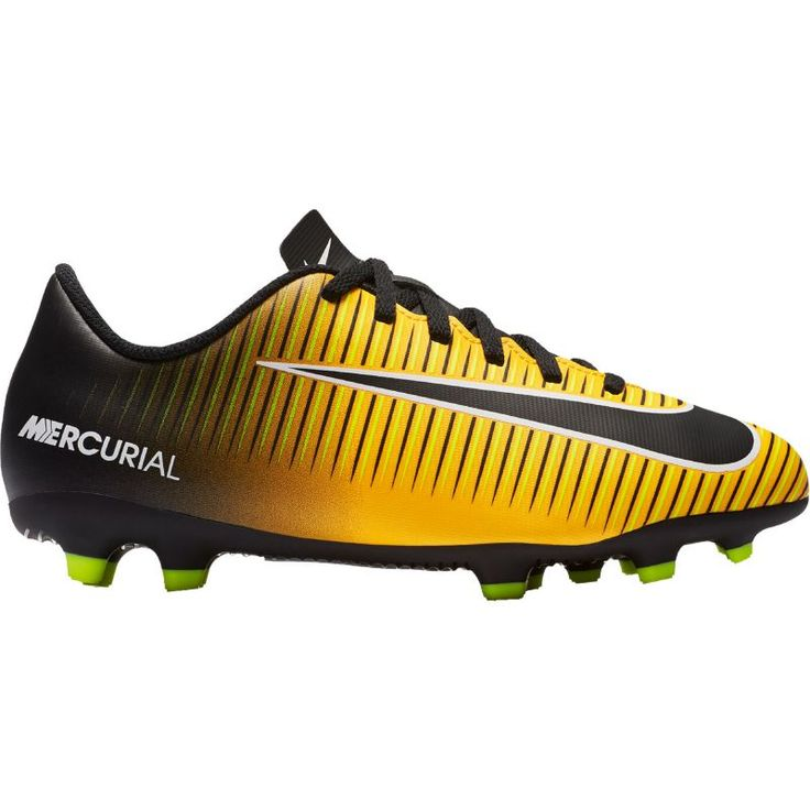 Nike Kids' Mercurial Vortex III FG Soccer Cleats, Boy's, Orange