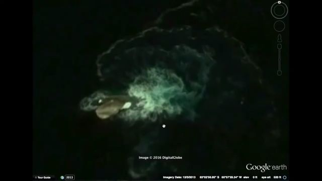"Here's the Supposed ""Kraken"" Somebody Spotted on Google Earth"