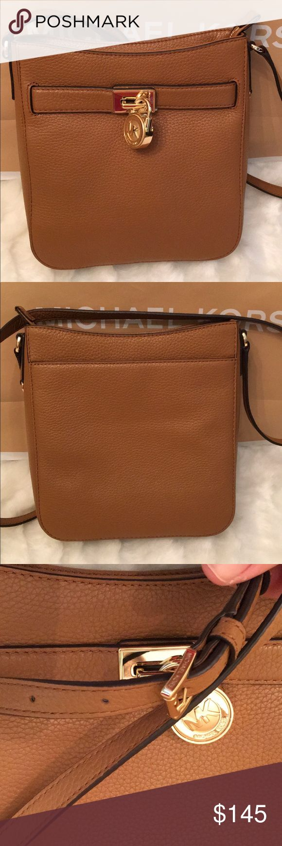 NWT Michael kors crossbody Brand new with tags Michael kors hamilton crossbody color acorn adjustable strap MICHAEL Michael Kors Bags Crossbody Bags