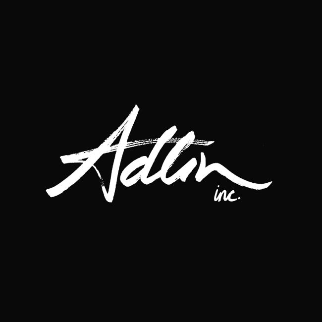 Adlin Inc. by Apartment One.  #branding #logo #typography