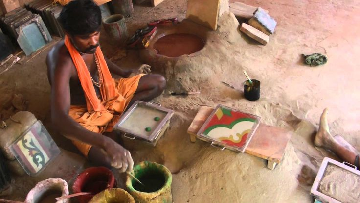 Athangudi Tile Crafting (presented by Easy Tours of India)