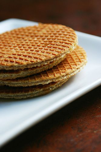 Stroopwaffels (Belgium favorite - syrup waffles)  One of our favorites!