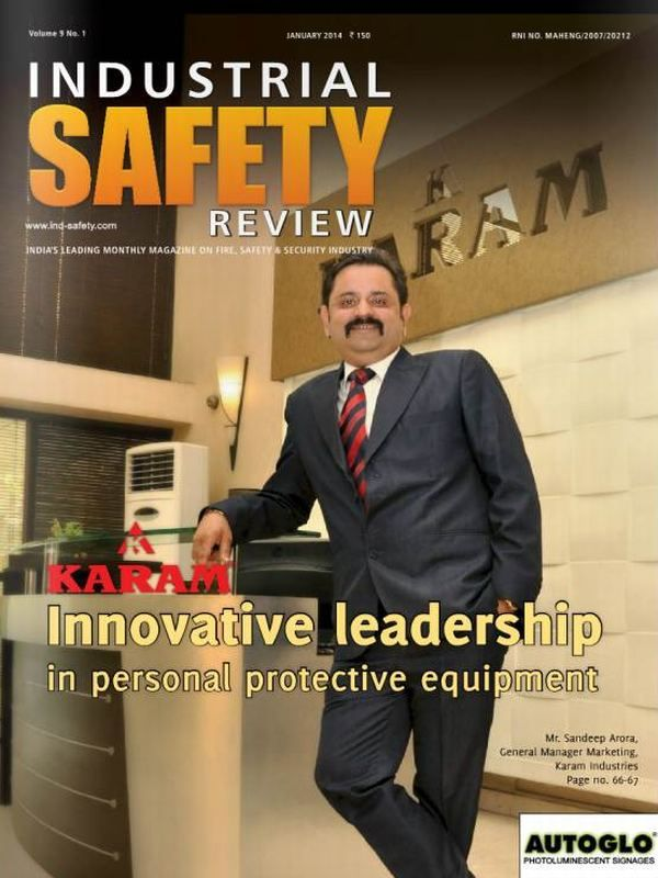Industrial Safety Review Magazine deliver its January 2014 issue.