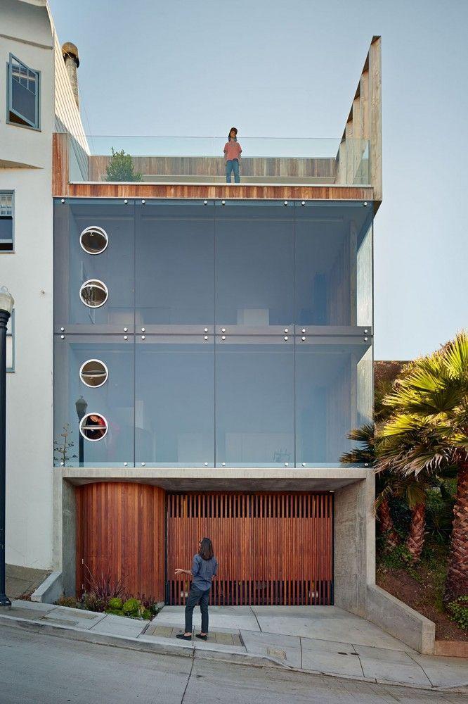Casa em concreto aparente