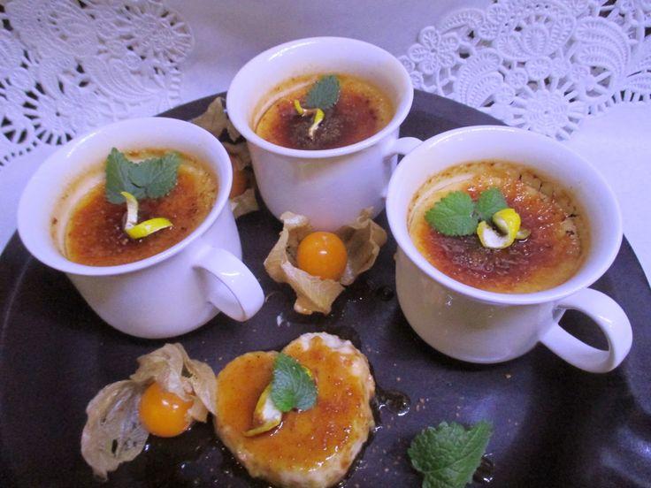 Tinskun keittiössä: Crème brûlée, vhh ja maidoton