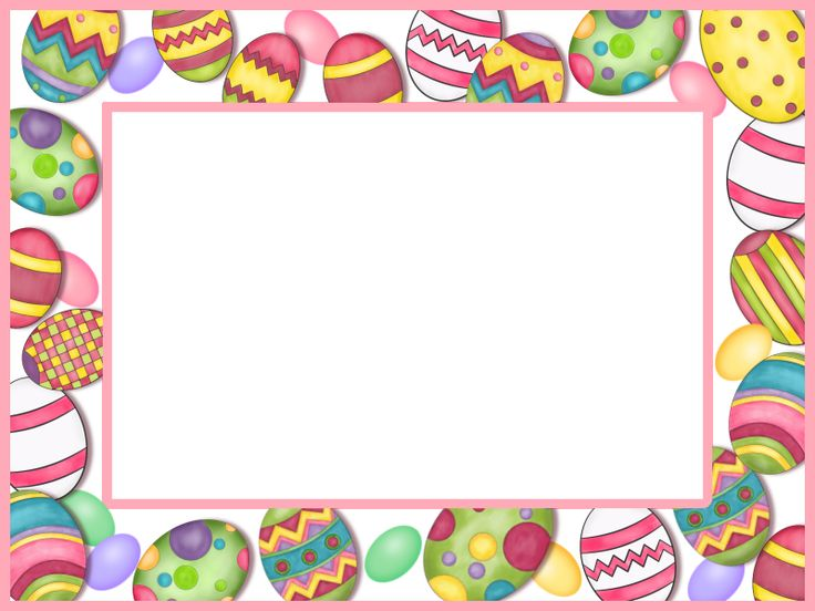 40 best Easter Frames images on Pinterest | Frames, Happy ...