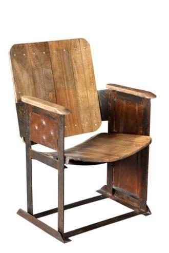 kinositz altholz vintage bei m belhaus hamburg chairs in. Black Bedroom Furniture Sets. Home Design Ideas