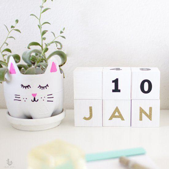 DIY Block Calendar