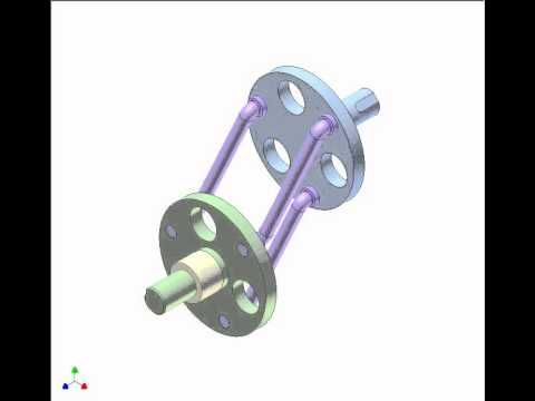 Application of parallelogram mechanism 3 - YouTube