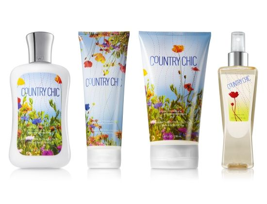 Bath & Body Works Country Chic Collection... a great fragrance for summer and fall!