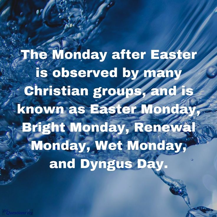 How is #EasterMonday celebrated around the world? http://www.gotquestions.org/Easter-Monday.html