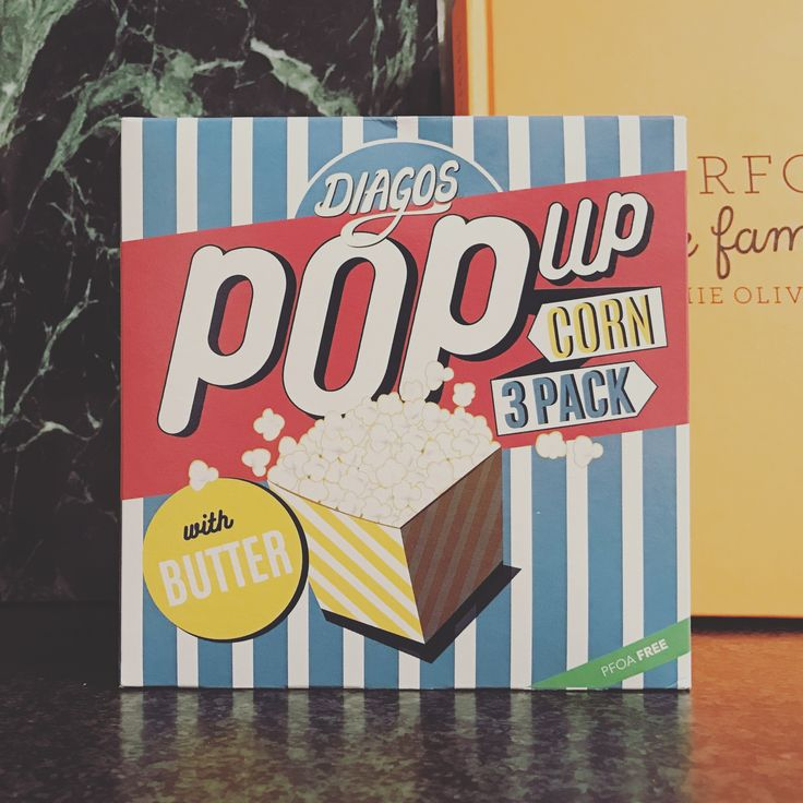 Packaging design by O&O - pop up corn