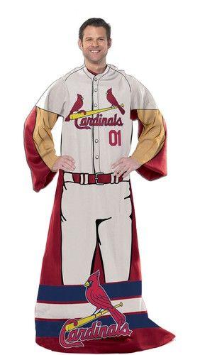 Saint Louis Cardinals St. Player Uniform Comfy Throw