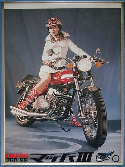 Kawasaki 750-SS (Japan, 1960s)                                                                                                                                                                                 もっと見る