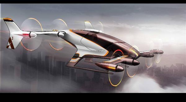 エアバスが開発を進める自動操縦機「Vahana」のイメージ(C)AIRBUS GROUP