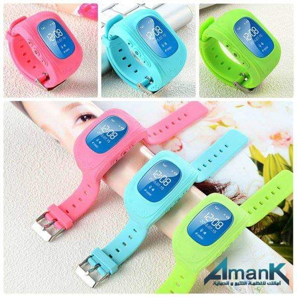 ساعة تتبع أطفال Amank Gps Smart Watch بسعر 1300ج بدل من 1500ج Garmin Watch Wearable Phone Accessories