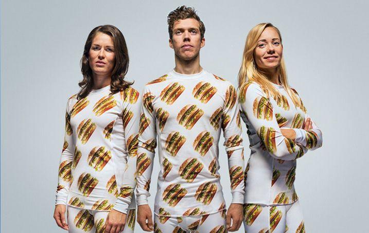 #Marketing McDonald´s lanza su marca de ropa #BigMac. :D @McDonald's