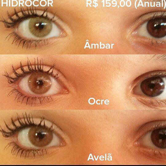 Hidrocor ↪R$ 159,00 (Anual)  Entrega em domicílio grátis em Fortaleza PEDIDOS ☎(85)3278-7175 (85)98783-7777 Oi (85)99245-9295 Whatsap/Claro www.lentedecontatonopreco.com.br  Enviamos para todo o Brasil  #ocre #âmbar #avelã #hidrocor #naturalcolors #solotica #makeup  #lentedecontato #nopreco #delivery #fortaleza #saoluis #teresina #belem #recife #estética #miopia #bomdia #hojeesexta #make #brasil