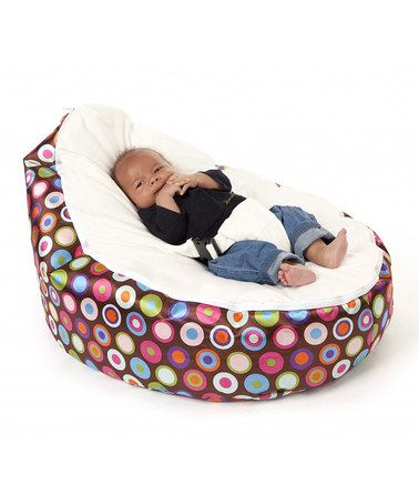 Best Take a look at this Vanilla Jelly Bean Beanbag Chair by Baby Beanbag on zulily