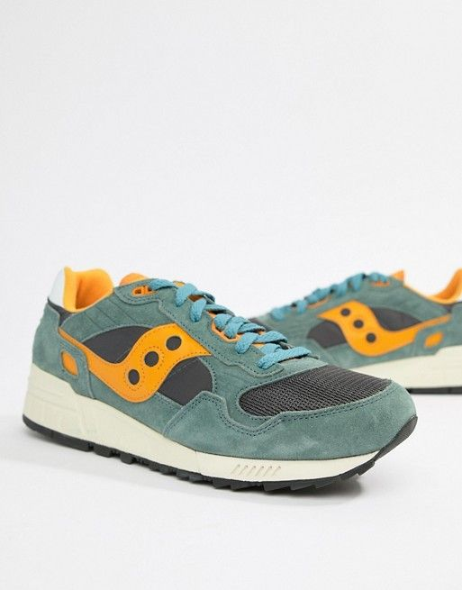 Saucony Shadow 5000 Trainers In Green S70404 9