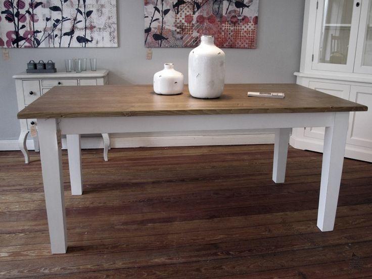 BiaŁy St 211 Ł Z Drewnianym Blatem House House House Home Decor Dining Table Table