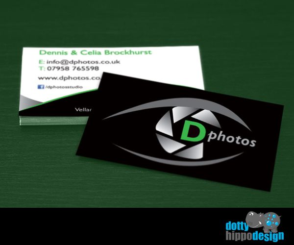 Business card design for Photos