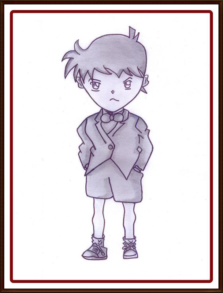 """Conan """"Perdana, SMA kelas 1"""""""