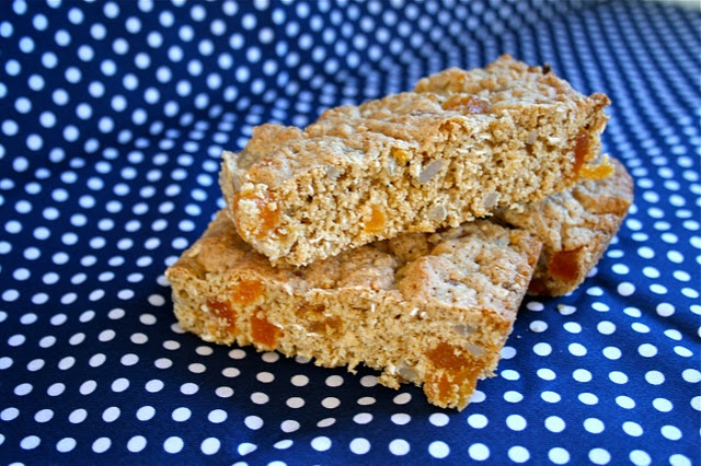Oat & Apricot Slice - thermomix