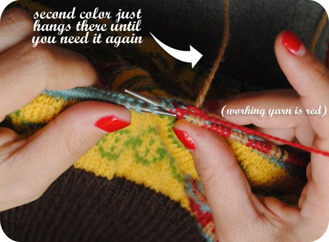9 best Knitting How-To: Stranding and Fair Isle images on ...