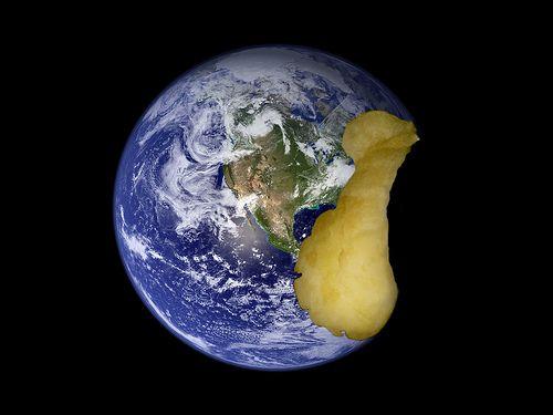 nice Apple Earth
