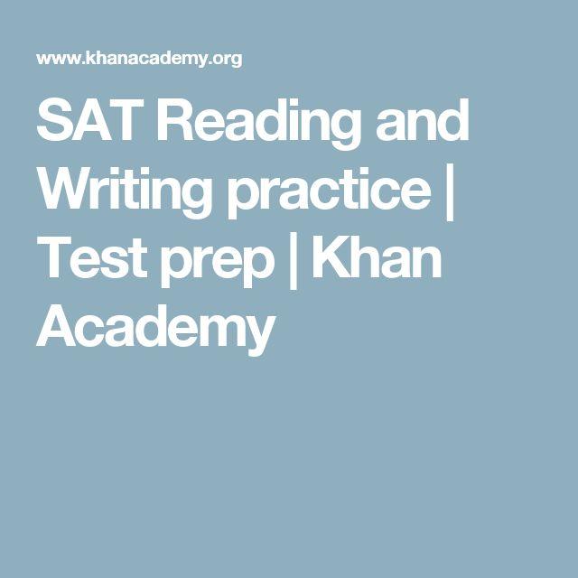 khan academy essay writing