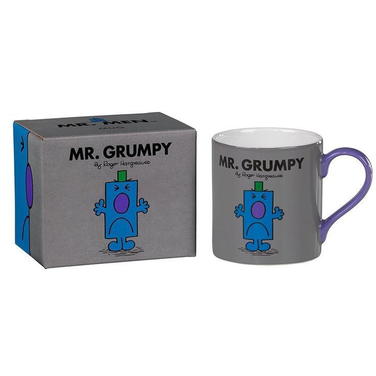 Mr Grumpy - Full Colour Mr Men And Little Miss Mug #WW