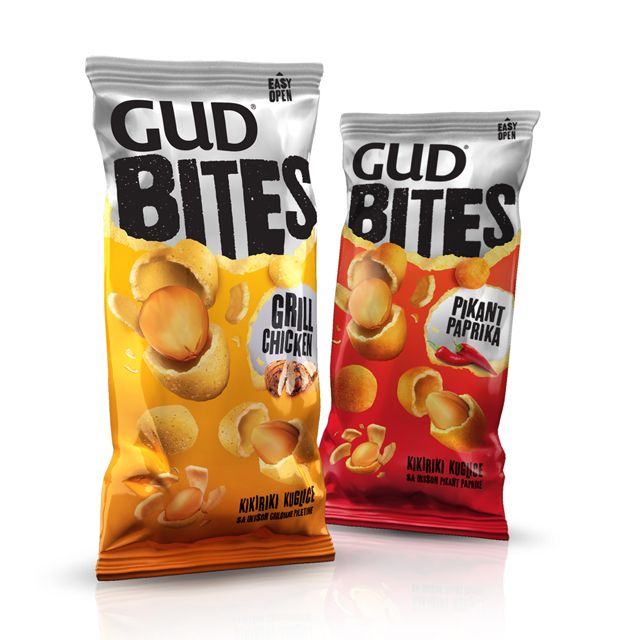 Gud Bites snack #packaging PD
