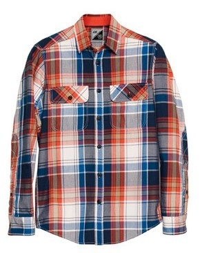 Flannel Riders Shirt from H & M for BRICK LANE BIKES.