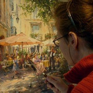 Artist Barbara Jaskiewicz - Original Impressionist Paintings