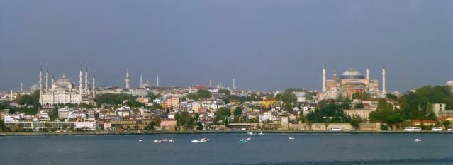 Four-day land tour of Turkey that included stopovers in Istanbul, Izmir, Pergamon, Pamukkale, Ephesus, and Kusadasi