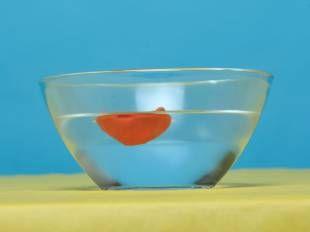 Experimente mit Wasser: Auftrieb im Wasser