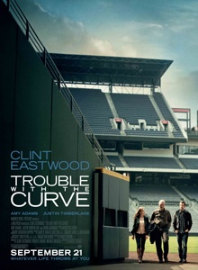 Trouble With the Curve (2012) Slowed by age and failing eyesight, crack baseball scout Gus Lobel takes his grown daughter along as he checks out the final prospect of his career. Along the way, the two renew their bond, and she catches the eye of a young player-turned-scout. Clint Eastwood, Amy Adams, John Goodman...7c