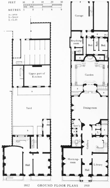 79 best british townhouses images on pinterest for Regency house plans